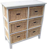 Coogee 6 Drawer Tall Cabinet