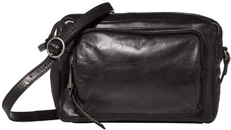 Lucky Brand Caro Crossbody (Black) Handbags