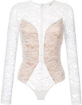 Fleur Du Mal lace longsleeved bodysuit