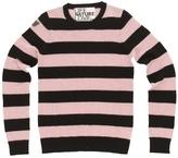 Freecity Big Strike Dove Cashmere Crew Sweater