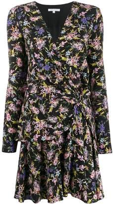 Patrizia Pepe floral-print ruched dress