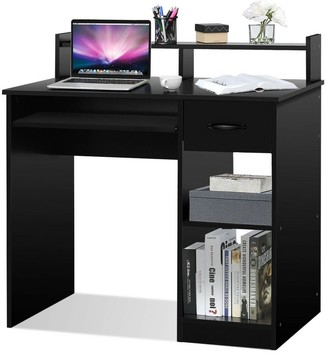 Overstock Gymax Computer Desk PC Laptop Table WorkStation Home Office Study