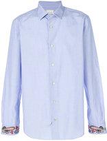 Paul Smith paisley cuff shirt - men - Cotton - 15