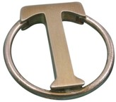 Tiffany & Co. Sterling Silver .925 & Bronze Key Chain Ring