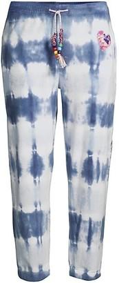LoveShackFancy Santinella Tie-Dye Pants