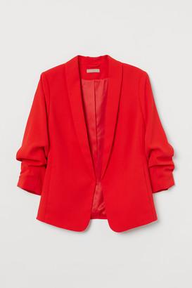 H&M H&M+ Shawl-collar Jacket