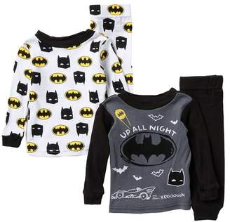 AME Batman Cotton Pajama Set - Set of 2 (Baby Boys)