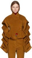 Awake Tan Corduroy octopus Dressed As Don Quixote Jacket