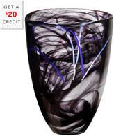 Kosta Boda Contrast Vase With $20 Rue Credit