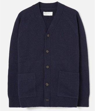 Universal Works Vince Cardigan Navy - Medium