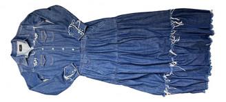 Alanui Blue Denim - Jeans Dresses