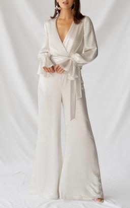 Alexandra Grecco Bridal Aster Jumpsuit
