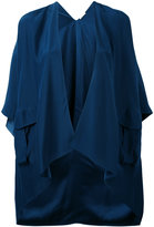 P.A.R.O.S.H. 'Sibel' cape - women - Silk - S