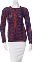 M Missoni Patterned Knit Top w/ Tags