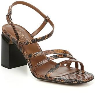 Franco Sarto Qitara Strappy Block Heel Sandal