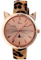 Boum Miaou Collection BOUBM3206 Women's Watch with Leather Strap
