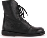 Angulus Kentuky Lined Leather Boots with Zip