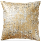 "Donna Karan Rhythm Ivory 14"" Square Decorative Pillow"