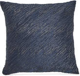 "Donna Karan CLOSEOUT! Home Ocean Twisted Embroidery 16"" x 16"" Decorative Pillow"