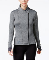 adidas Wrap Asymmetrical-Zip ClimaHeat Jacket