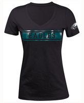 5th & Ocean Women's Philadelphia Eagles Touchback LE T-Shirt