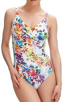 Fantasie Agra Underwire Cross Front Control Swimsuit in (FS6328) *Sizes D-H*