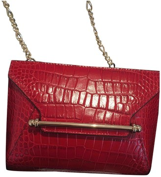 Strathberry Red Leather Handbags
