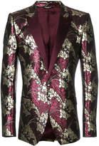 Dolce & Gabbana Lurex jacquard tuxedo jacket