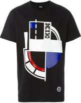 Kokon To Zai front print T-shirt - men - Cotton - XS