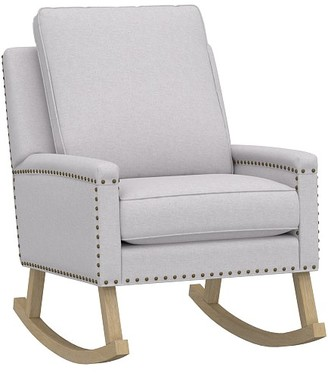 Pottery Barn Kids Tyler Square Arm Rocking Chair & Ottoman
