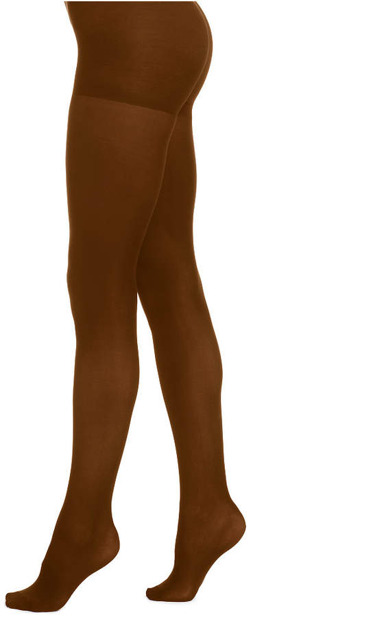 2377dc48600 Chocolate Opaque Tights - ShopStyle