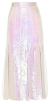 Christopher Kane Sequin-embellished Silk Skirt