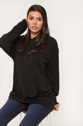 Ardene Basic Oversized Fleece Hoodie
