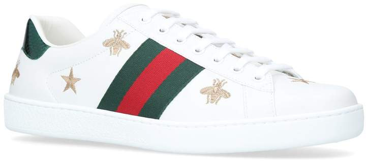 Gucci Ace Bee Star Sneakers