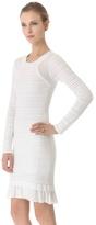 Yigal Azrouel Cotton Knit Dress
