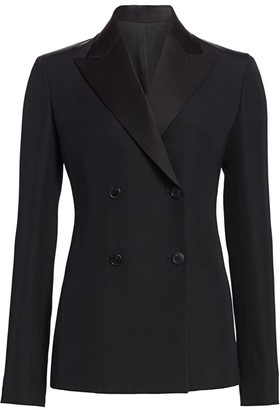 The Row Zori Double Breasted Jacket