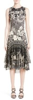 Fuzzi Women's Floral Scuba Dress
