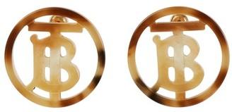 Burberry TB earrings