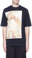3.1 Phillip Lim Raven print patch T-shirt