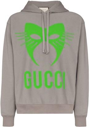 Gucci Manifesto print hoodie
