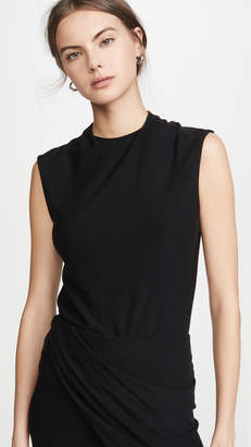 Vince Draped Neck Shell Top