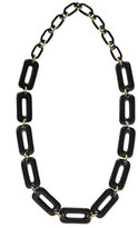 'chain Reaction' Long Solid Link Necklace