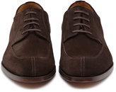 Reiss Reiss Colden - Split-toe Derby Shoes In Brown