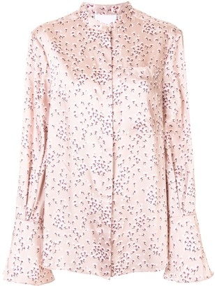 Acler Chase floral blouse