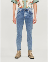 Gucci Faded tapered jeans