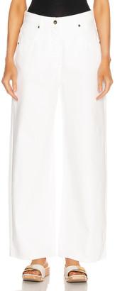 Jacquemus Le Jean de Nimes in White | FWRD