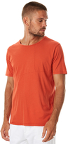 Nudie Jeans Ove Patched Mens Tee Red