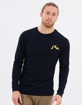 Rusty One Hit Competition Long Sleeves Tee