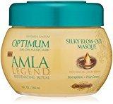 Soft Sheen Carson Optimum Salon Haircare Amla Legend Silky Blow-Out Masque, 9 oz