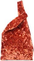 Hayward folded velvet shopper
